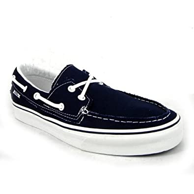 dcc81e3bae92 Vans Zapato Del Barco Mens Canvas Skate Trainers-Black White  Amazon.co.uk   Shoes   Bags