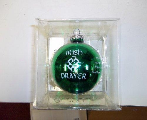 Bronner's Irish Prayer Ornament Glass Ball