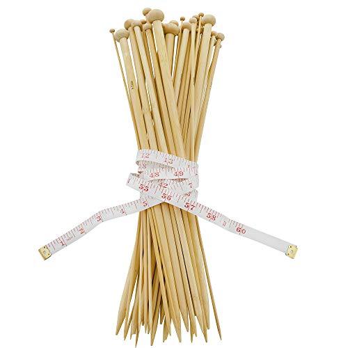 Bamboo Needles Knitting Straight (14