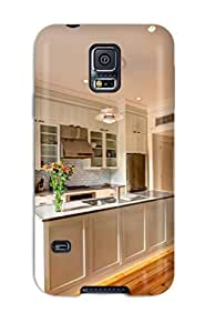 Tpu ZippyDoritEduard Shockproof Scratcheproof Functional White Shaker Kitchen Hard Case Cover For Galaxy S5
