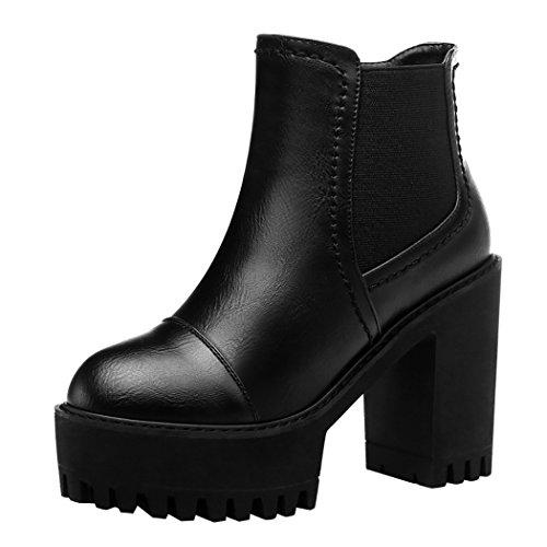 MUYU Winter New Western Style Platform Short Boots