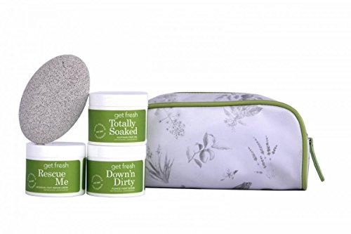Get Fresh Relief for Tattered Tootsies Kit - Lemongrass Foot Creme