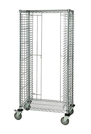 Quantum sistemas de almacenamiento tc-39 Modular bandeja bandejas de carro de alambre, 39