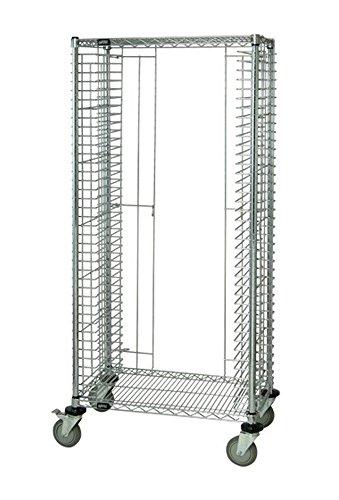 Modular Tray Carts (Quantum Storage Systems TC-39 Modular Tray Wire Cart, 39 Trays Capacity, Chrome Finish, 18