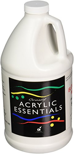 Chroma Acrylic Essential, 1/2 Gallon, Block Out White -