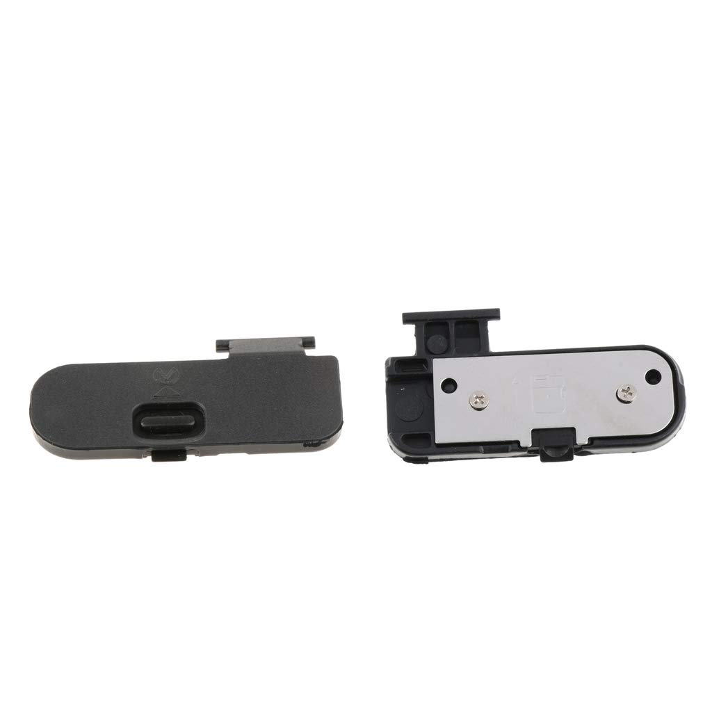 Baosity 2 Pieces Battery Door Cover Lid Cap for Nikon D5300 D7200 D3300 Replacement Part