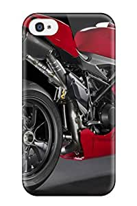 Iphone 4/4s Case Cover Skin : Premium High Quality Ducati 1198 Ducati Motorcycles Case