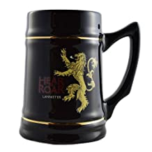 Game of Thrones Collectible Ceramic Stein-House Lannister, Black