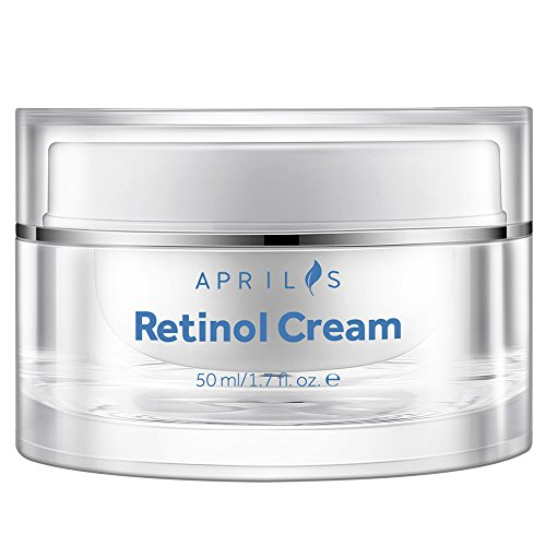 Aprilis Retinol Moisturizer Cream for Face & Neck, Anti-Aging Night Cream with Active Retinol, Hyaluronic Acid and Vitamin E, Reduces Wrinkles, Acne and Stretch Marks, 50 ml, 1.7 fl. oz.