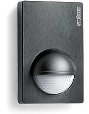 Steinel Is 180-2 Bewegingssensor, Zwart, 180° Infrarood Bewegingssensor, Schemeringssensor Voor Binnen En Buiten