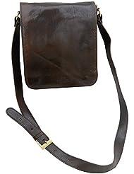 Timmari Sycamore Collection Italian Leather Shoulder Bag Messenger Bag