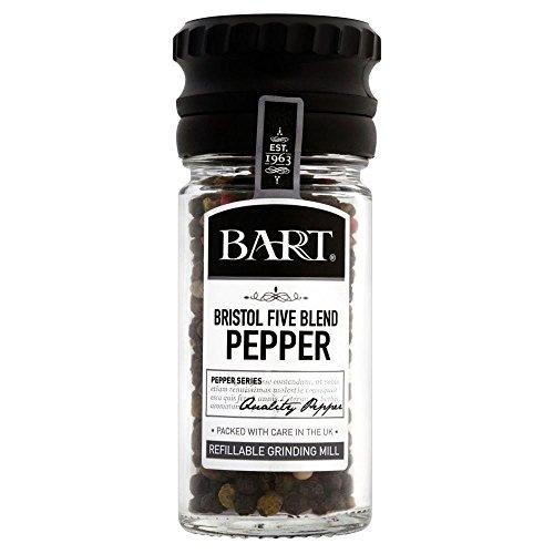 Bart Bristol Blend Five Pepper Mill (35g) - Pack of 6 by Bart (Image #1)