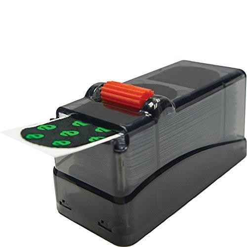 Ebonite Tape Dispenser with Tape (Black)