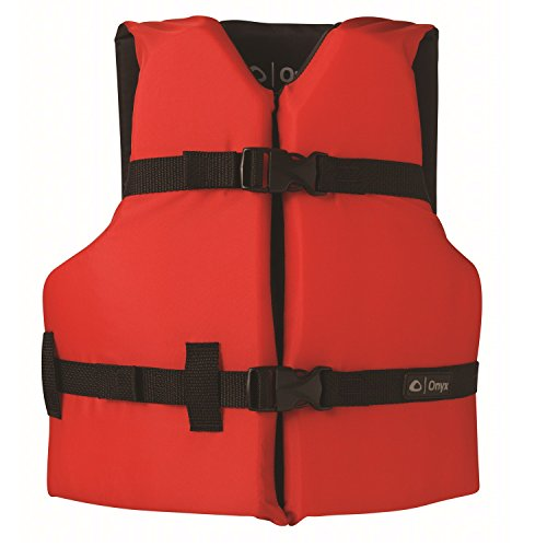 ONYX General Purpose Boating Life Jacket Youth, Red