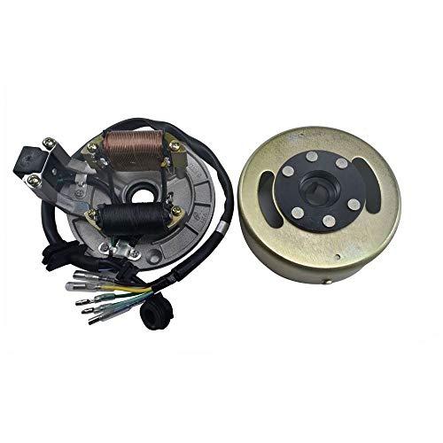 Magneto Flywheel Stator Ignition Plate for 50cc 70 90cc 110cc 125cc Dirt Bike ATV Quad Pro Buggy