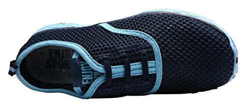Calze Da Donna In Caihee Leggerissime Quick-dry Aqua Slip On Water Shoes Blue
