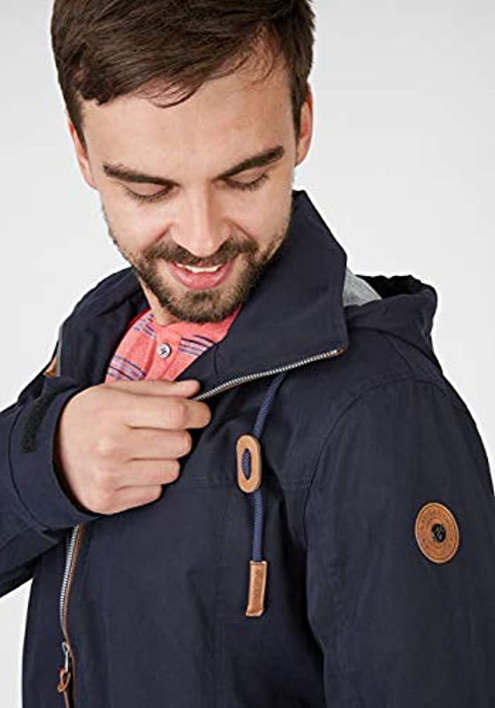 Navigazione męska kurtka z miękkiego materiału, kolor: grantowy , rozmiar: xxl: Odzież