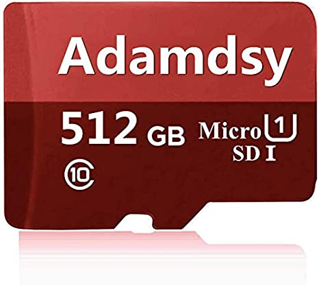 Adamdsy Tarjeta Micro SD de 256 GB, Tarjeta de Memoria Micro SDXC de 256 GB Clase 10 + Adaptador SD Ideal para Usar en cámaras Android, tabletas y ...