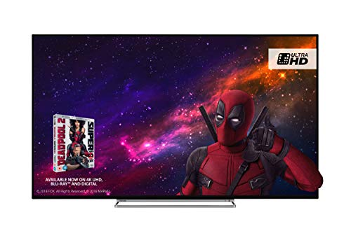Toshiba 65U5863DB 65-Inch Smart 4K Ultra-HD HDR LED TV with Freeview Play -...