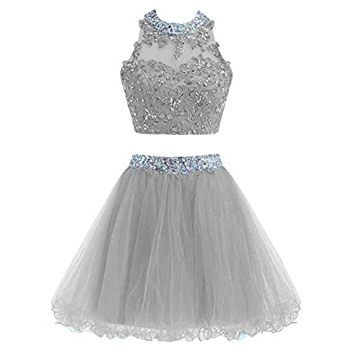 2 Piece Short Dresses Prom: Amazon.com