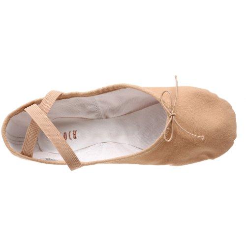 Bloch Damen Pump Ballet Slipper Fleisch