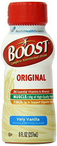 Boost Complete Nutritional Drink, Very Vanilla (Pack of 6)