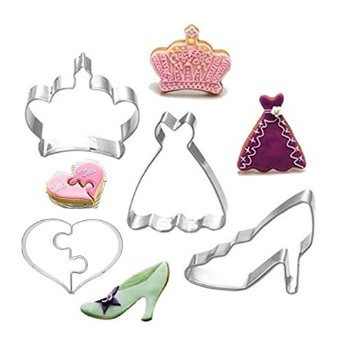 4 Pcs Cookie Cutters Stainless Steel Mini Kids Cute|mini tool cookie cutters|mni coolie mold|mni -