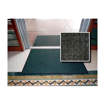Indoor Outdoor Entrance Mat - FloorGuard Diamond - Heavy Duty Commercial Grade - 3' x 5' - Charcoal