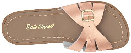 Salt-Water Womens Classic Slide Super Premium Sandals Waterproof Adjustable Gold