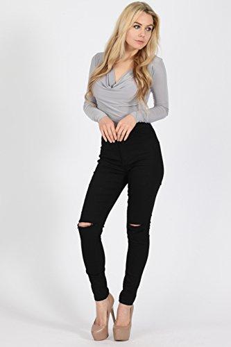 noir Noir Jeans London Missi Femme 7qIxTBn4