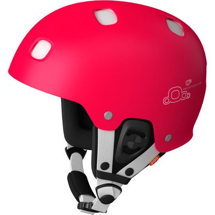 POC Receptor Bug Adjustable Red & White XSmall - Small Helmet