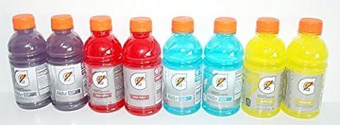 Gatorade Thirst Quenchers - 8 (12 Oz.) Fruit Punch, Lemon-lime, Riptide Rush & Glacier Freeze