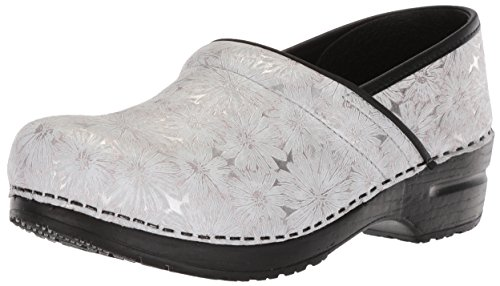 Pro Clog Original Sanita White Women's Metallic Daisy w47OEgqT