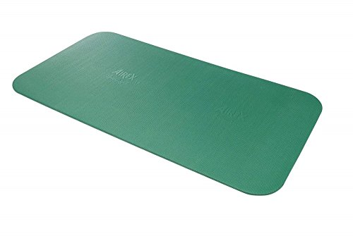 Airex Corona Professional Quality Exercise Mat Green 72 L x 39 W x .6 H