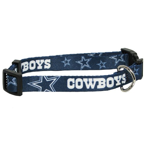 Hunter MFG Dallas Cowboys Dog Collar, Large