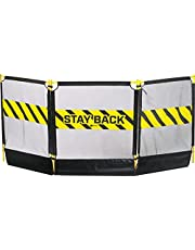 Notch 35184 Tri-Guard Debris Barrier, Black/Yellow