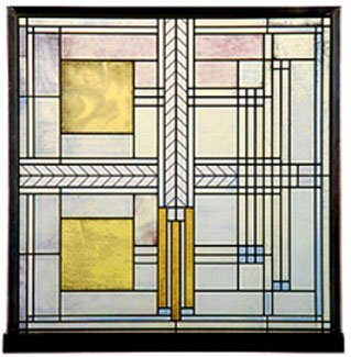 Frank Lloyd Wright Willits House Stained Glass by Mexia
