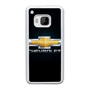 Chevrolet Y4B7Oe HTC uno M9 funda la caja del teléfono celular blanco S9J1WU funda de plástico caso único