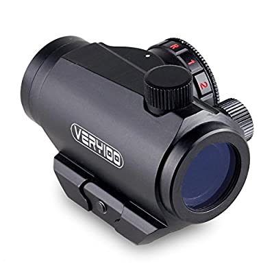 VERY100 Tactical Holographic Sight Scope w/ 20mm Weaver Picatinny Rail Mount 20mm for Pistol Gun Hunting Scopes Air Soft