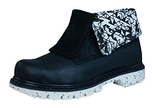 Caterpillar Colorado RD Walala Womens Leather Boots Black FioyTJnX