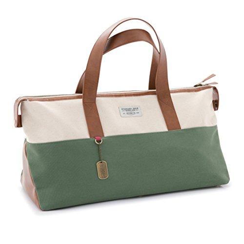 Price comparison product image DesignWorks Ink Standard Issue Weekend Ranger Duffle Bag,  Evergreen