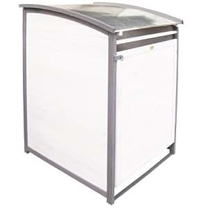 Habau 3142 - Caseta para contenedor de basura (240 l)