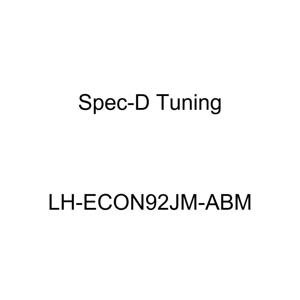 Spec-D Tuning LH-ECON92JM-ABM Black Headlight Euro Housing