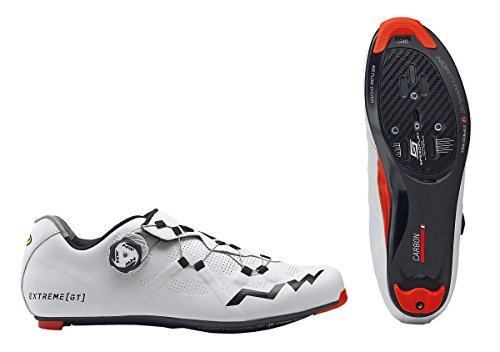 Zapatillas Carretera Northwave Extreme GT Blanco-Negro - Talla: 43