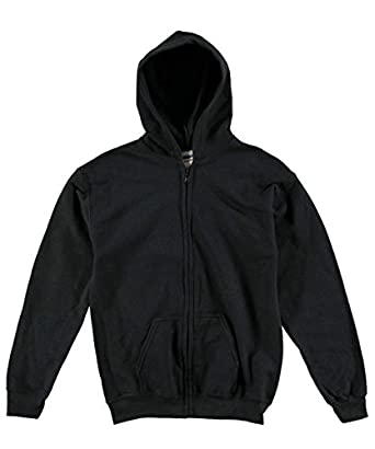 Basic Black Zip Up Hoodie | Fashion Ql