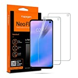 Spigen NeoFlex Screen Protector [TPU Film] Designed for Samsung Galaxy S10 (2019)(2 Pack)