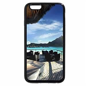 iPhone 6S Plus Case, iPhone 6 Plus Case, Perfect View - Bora Bora HD