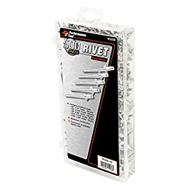 500 Piece Aluminum Rivet Hardware Kit