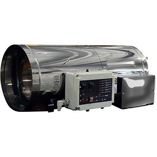 mmercial Greenhouse Heater, Propane or NG, 400000 BTU, 208-230V (400000 Btu Natural Gas Heater)