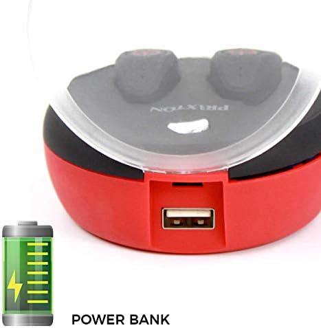 PRIXTON Auricular BT Oyster TWS200 2.000 MAH Power Bank
